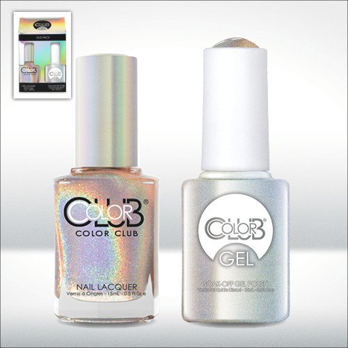 Color Club Gel CHERUBIC Halographic Color Club Gel + Lacquer