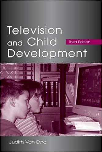 Book By Judith Van Evra - Television and Child Development (LEA's Communication Series) (3)