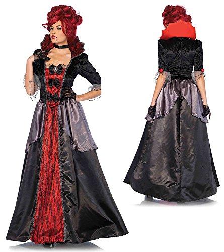 Leg Avenue Women's Blood Countess Vampire Costume,