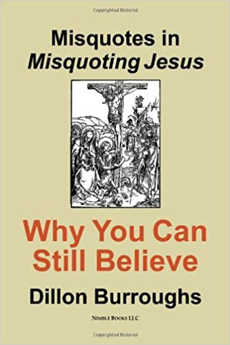 Amazon com: Misquotes in MISQUOTING JESUS: Why You Can Still