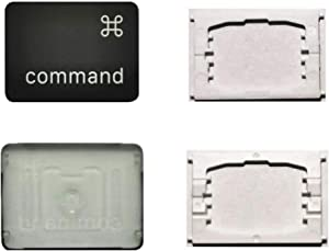 Replacement Individual Left Command Key Cap and Hinges are Applicable for MacBook Pro 13&16inch Model A1989 A1990 and for MacBook Air Model A1932 Keyboard to Replace The Left Command Keycap and Hinge