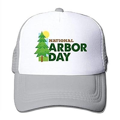 Arbor Day Adjustable Baseball Cap Outdoor Snapback Mesh Trucker Hat by BHUIA