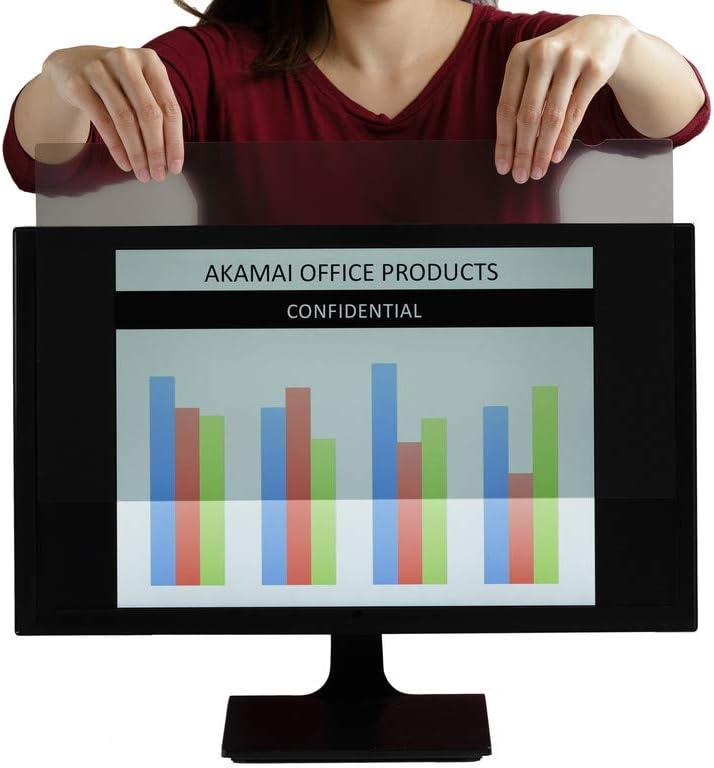 Akamai Office Products Monitor Anti Glare Screen – Anti-Glare, Anti-Scratch, Blocks 96% UV Blue Light Protection – Matte Gloss Finish (21.5