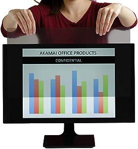 22 inch Monitor Anti Glare Screen – Anti-Glare, Anti-Scratch, Blocks 96% UV Blue Light Protection – Matte Gloss Finish (22