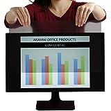 Monitor Anti Glare Screen – Anti-Glare, Anti-Scratch, Blocks 96% UV Blue Light Protection – Matte Gloss Finish (27.0…