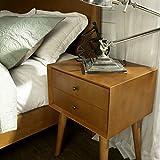 Crosley Furniture Landon Night Stand, Acorn