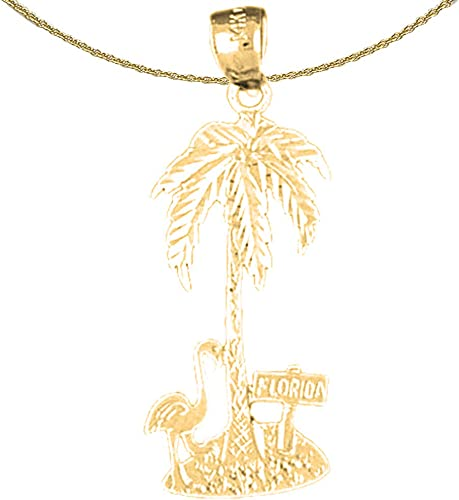 Jewels Obsession Cross Necklace 14K Yellow Gold-plated 925 Silver Cross Pendant with 16 Necklace