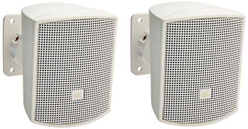 - JBL Professional JBL Control 52 Surface-Mount Speaker for Subwoofer-Satellite Loudspeaker System White-Sold as Pair, WH