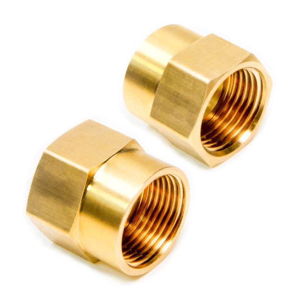 Joywayus 3//4 Female GHT Thread x 3//4 Male NPT Thread Brass Pipe Fittings Adapter