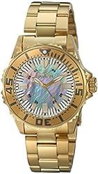 Invicta Women's 17698 Pro Diver Analog Display Swiss Quartz Gold Watch
