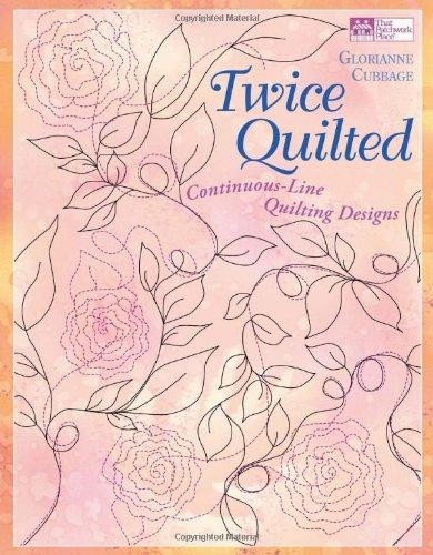Twice Quilted: Continuous-Line Quilting Designs (Little Box Of...) -