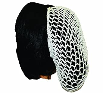 Alexanders Costumes Snoods, White, One Size