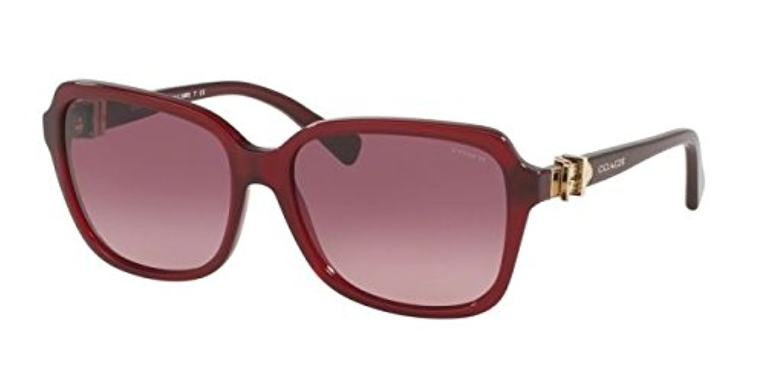 0248d0d88d70 ... france coach womens hc8179f sunglasses burgundy burgundy gradient 58mm  at amazon womens clothing store a456e 8ca39