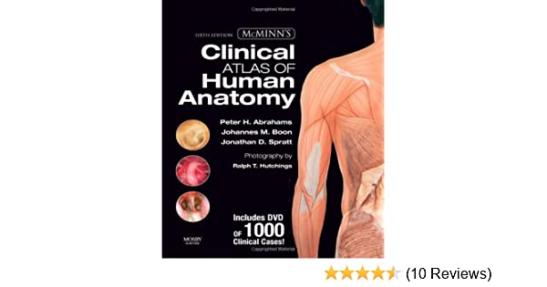 Mcminns Clinical Atlas Of Human Anatomy With Dvd Mcminns Clinical