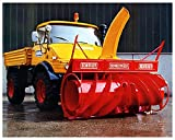 Best ROTARY snow blowers - 1976 Mercedes Benz Unimog Schmidt 3ZL Rotary Snow Review