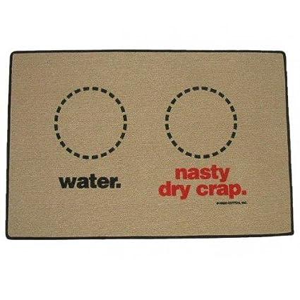 Amazoncom Waternasty Doormatpet Food Mat Dog Mats Water And