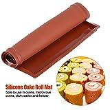 Fdit Baking Mat Swiss Roll Cake Roller Pad