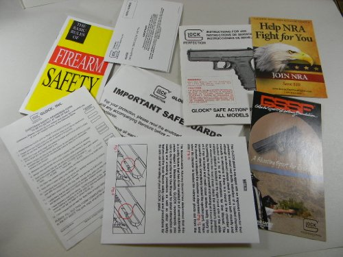 Original GLOCK factory Pistol Owner Manual. NORTHRIDGE INTERNATIONAL INC. (Manual Owners Pistol)
