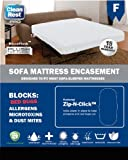 Sofa & Roll-Away Bed Bud & Allergen Mattress Encasement from CleanRest (Pack of 4, twin)