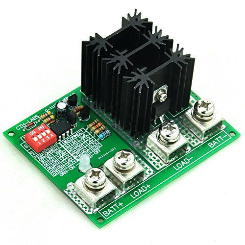 CZH-LABS Electronics-Salon Low Voltage Disconnect Module LVD, 12V 80A, Protect Prolong Battery Life.