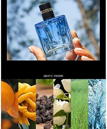 Leoie Perfume Men Long Lasting Fragrance Mini Bottle Male Parfum Glass Bottle Fragrances 30ml 030 Sunshine Men [Blue] 30ml