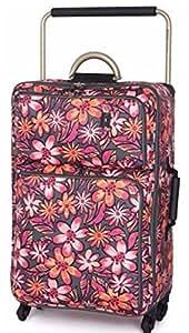 It Luggage más ligero del mundo 4ruedas maleta-Mediano Flores