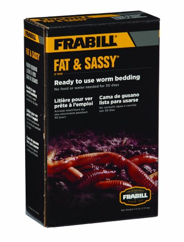 Frabill 1066 Fat & Sassy Worm 2.5 Lb Pre - Sassy Worm