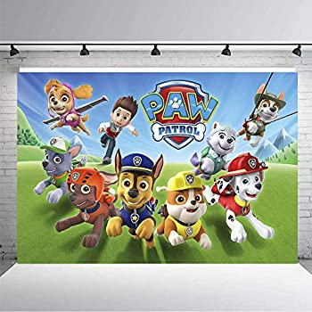 Amazon.com: MC personalizado 7 x 5 FT vinilo dibujos ...