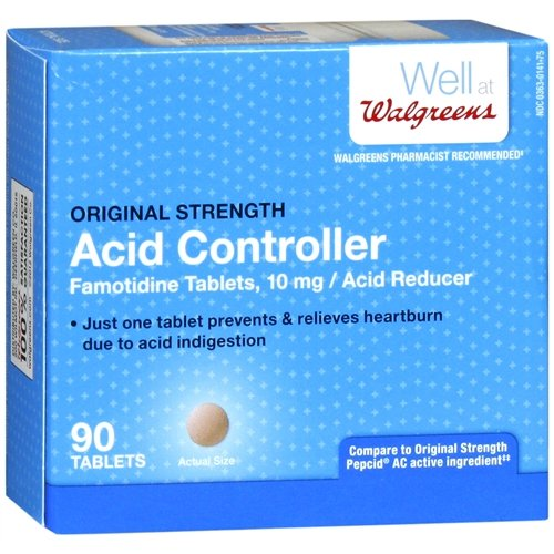 Walgreens Original Strength Acid Controller Tablets 90 ea