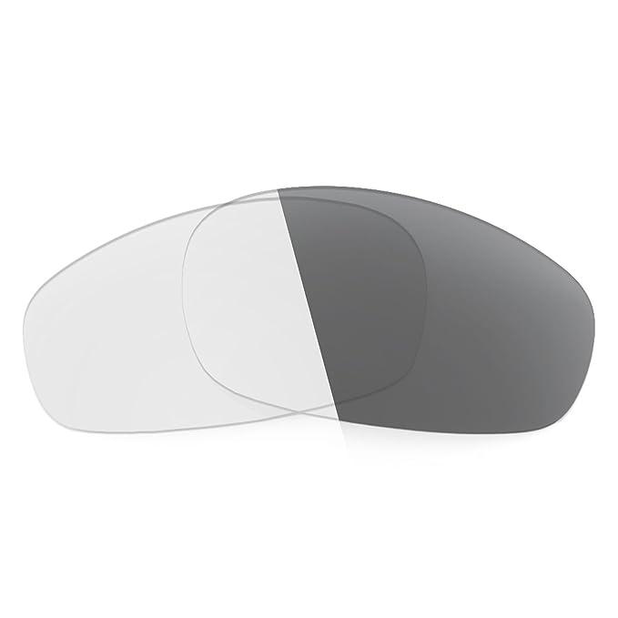 319fe8b8fade1 Revant Replacement Lenses for Oakley Split Jacket Elite Adapt Grey  Photochromic  Amazon.co.uk  Clothing