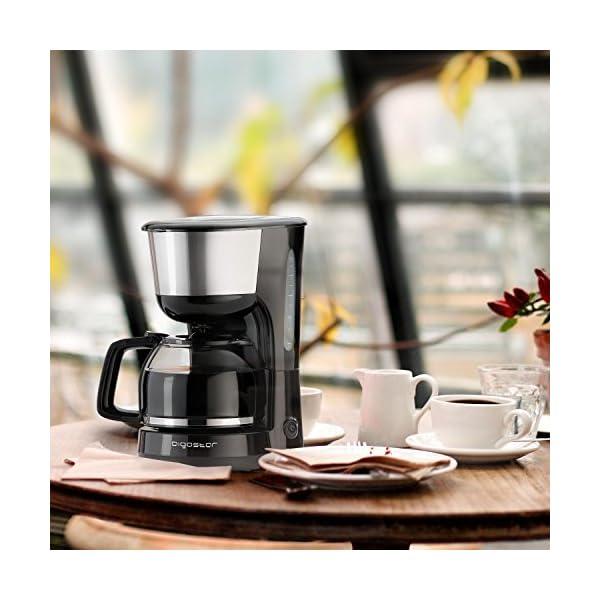 Aigostar Chocolate 30HIK - Macchina per caffe' 10 Tazze, Macchina Caffè Americano 1000 Watts, Caffettiera, Firltro… 3