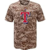 Texas Rangers Youth Camouflage T-shirt (Youth Large 14/16)