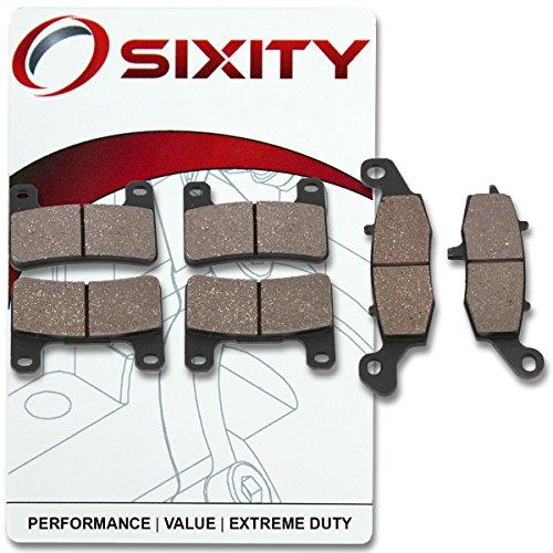 Suzuki M109r Boulevard - Sixity Front + Rear Ceramic Brake Pads 2006-2009 Suzuki M109R Boulevard Set Full Kit VZR 1800 L6 L7 L8 L9 L1 L2 L3 L4 Complete