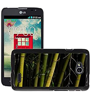 Hot Style Cell Phone PC Hard Case Cover // M00308693 Brissago Islands Plants Botany // LG Optimus L70 MS323