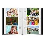 Fabric Frame Cover Photo Album 300 Pockets Hold 4x6 Photos, Warm Mocha