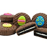 chocolate covered eggs - Philadelphia Candies Milk Chocolate Covered OREO Cookies, Easter Egg Assortment Net Wt 8 oz
