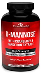 D-Mannose Capsules - 600mg D Mannose Pow...