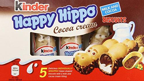 Ferrero Rocher Kinder Hippo-Cocoa Bars, 5 Count