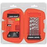 BLACK+DECKER 16748 Bullet Rotary Masonry Drill Bit Set, 5-Piece