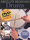 Absolute Beginners Drums, Music Sales Staff, 0825629713