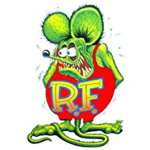 Rat Fink Decal 6""