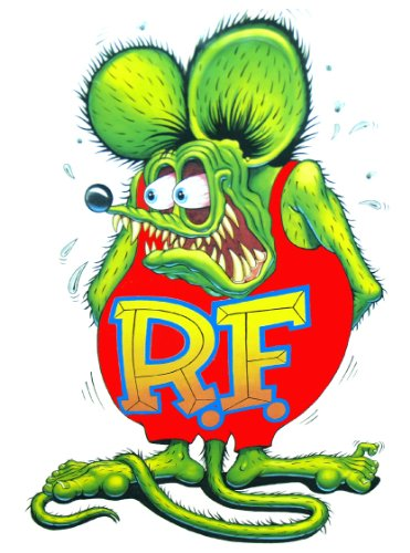 (Nostalgia Decals Rat Fink Decal from The United States (3