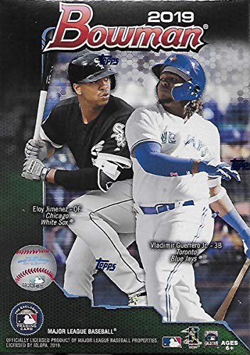 2019 Bowman Baseball Card - 2019 Bowman Baseball Blaster Box (6 Packs/12 Cards: 5 Inserts)