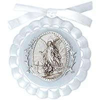 Roman White Cradle Medal