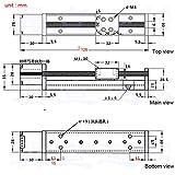 Linear Rail 50mm / 100mm / 150mm/ 200mm Linear
