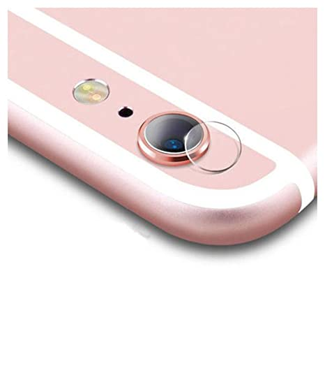 13a9c8f79 para el iPhone 6 / 6s Slim Soft Semi Cristal Lente de la cámara Posterior  Protector