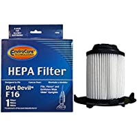 EnviroCare Dirt Devil F16 HEPA Vacuum Filter for Royal Dirt Devil, Vision, Envision wide glide Upright Vacuum Cleaners