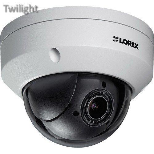 Lorex by FLIR LZV2622B Series 2.1MP Outdoor PTZ Dome Camera Ptz Series