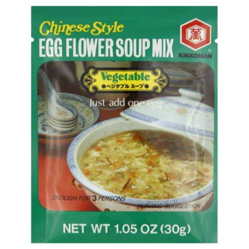 Egg Flower Soup - Kikkoman Corn Egg Flower Soup Mix, 1.1 Ounce -- 12 per case.