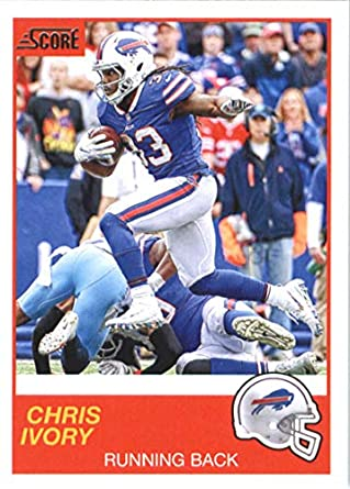 c8dc9f8c Amazon.com: 2019 Score #124 Chris Ivory Buffalo Bills NFL Football ...